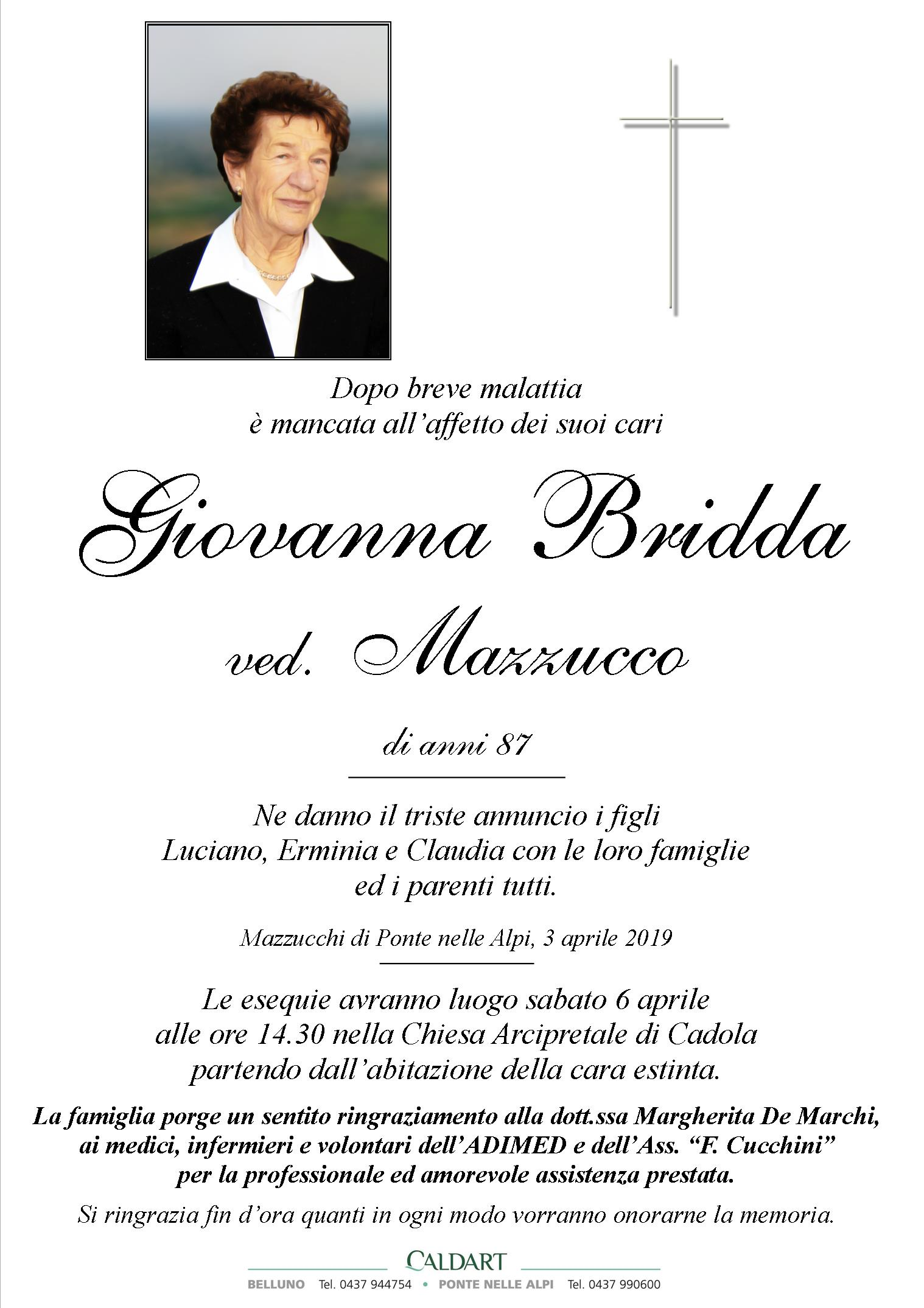 Bridda Giovanna