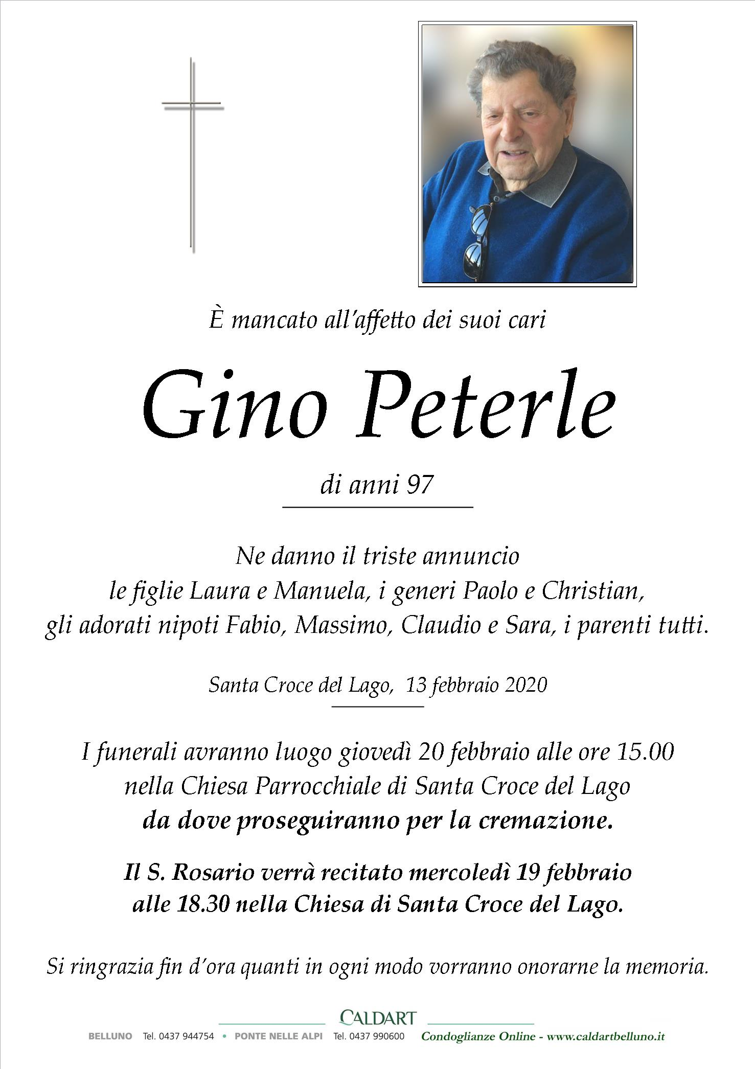 Peterle Gino